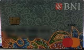 Kartu ATM Baru Saya Yang udah Jadi