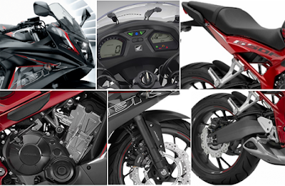 2016 Honda CBR650F ABS all details