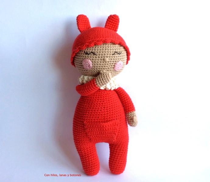 Con hilos, lanas y botones: Cuquito amigurumi (Cucapuntoes)