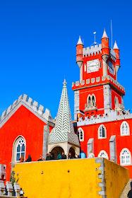Gorgeous Palacio de Pena in Portugal Sintra