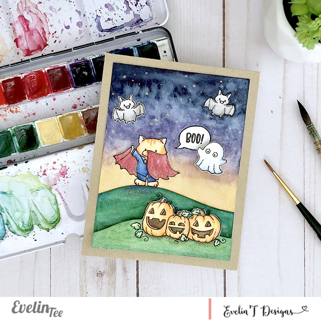 Sample card for It's Boo-tastic - Boo!