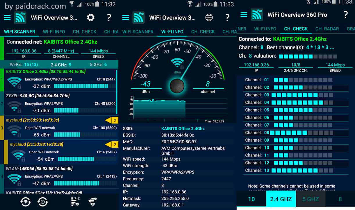 WiFi Overview 360 Pro Mod Apk 4.66.04 [Paid]