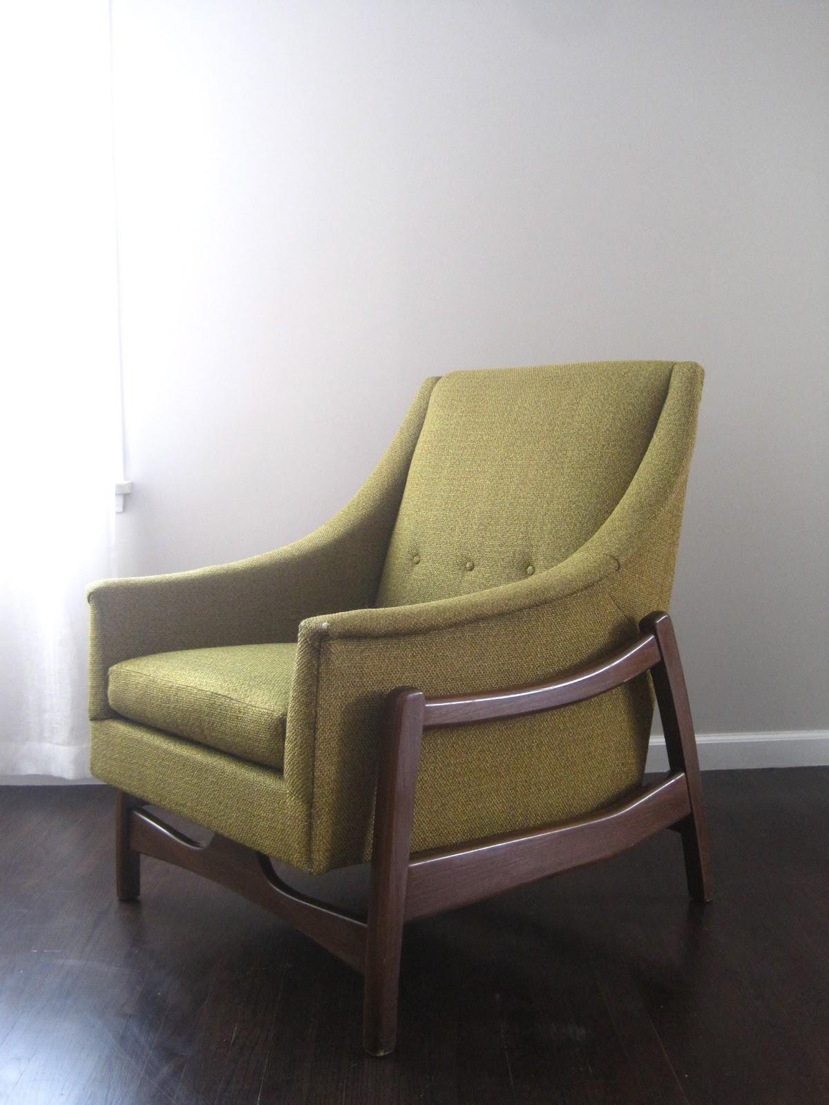 sofa rocking chair old leather rhan vintage mid century modern blog paoli