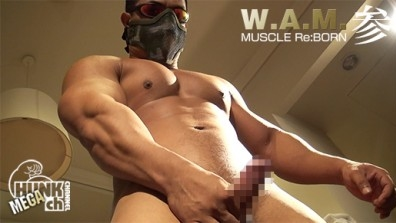 Wam026 Muscle Reborn 参、完璧造形美のお尻は見てるだけで我慢汁が止まらない!!むっちり脂ののったジューシーマッチョ登場!!!