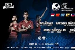 Jadwal Timnas Indonesia AFC U16 2019