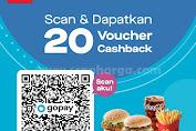 Promo McDonalds Gopay Scan Dan Dapatkan 20 Voucher Cashback
