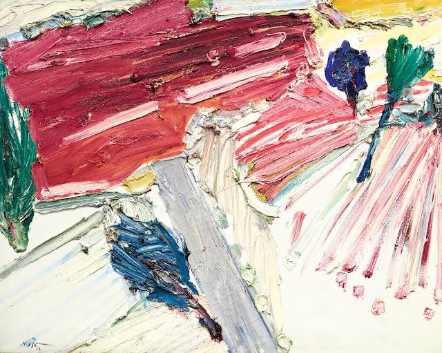 Manoucher Yektai - Abstract Expressionism Art