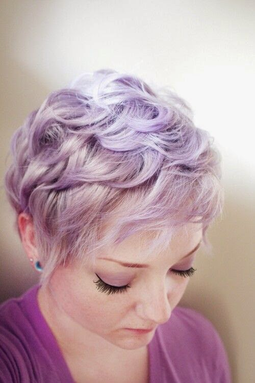 Short hair special Lavender pixie haircuts  The HairCut Web