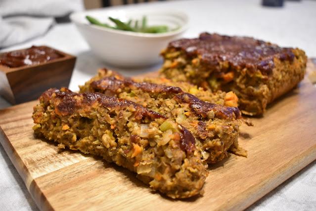 Gluten Free Vegan Lentil Loaf