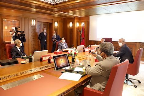 لأول مرّة.. وزير العدل يحضر أشغال المجلس الأعلى للسلطة القضائية