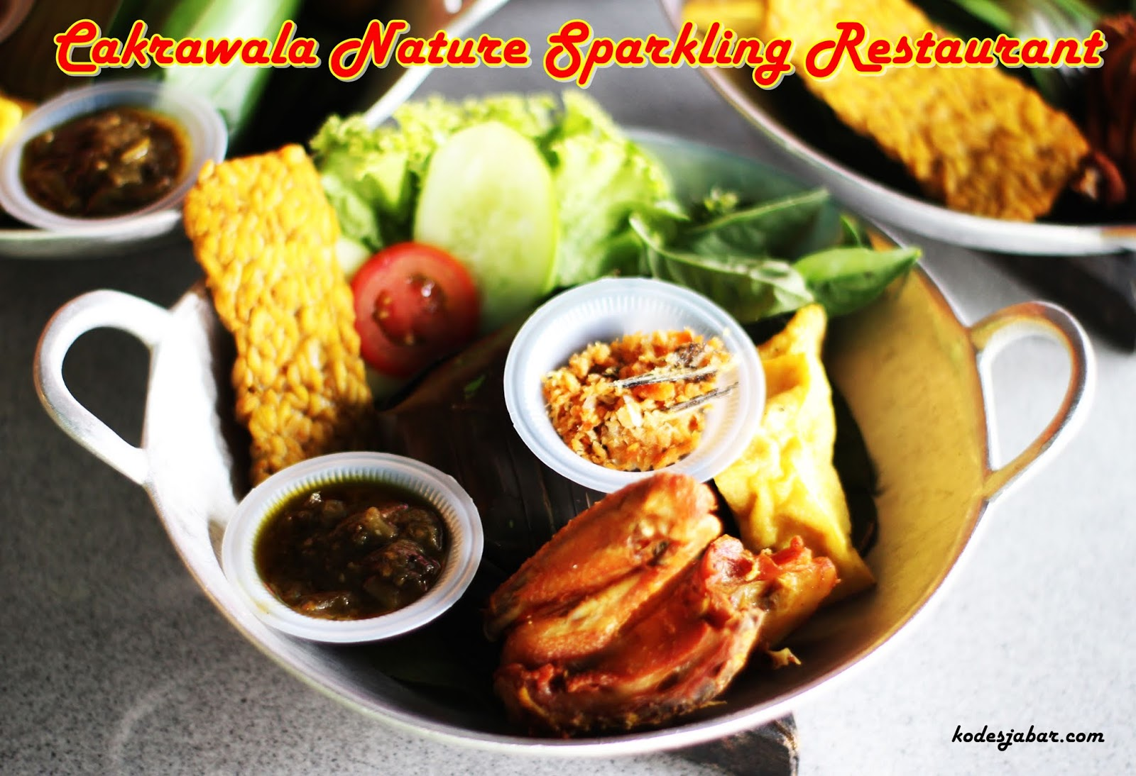 Cakrawala Nature Sparkling Restaurant, Tempat Makan Unik Berkonsep Angkasa Raya