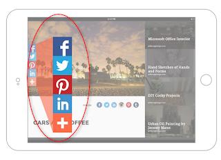 cara bikin share buttons artikel blog yang keren - blog