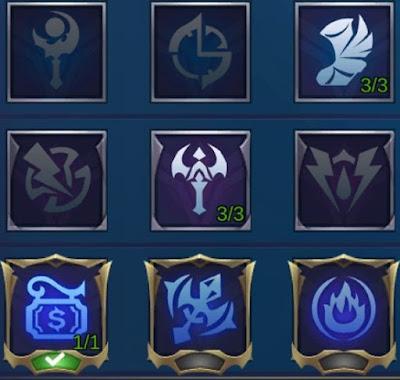 emblem karina mobile legends