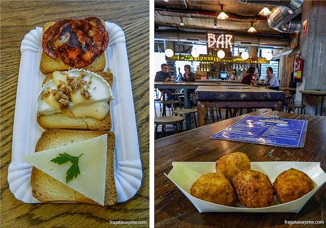 Mercados gastronômicos de Madri: Mercado de San Antón e Mercado de San Ildefonso