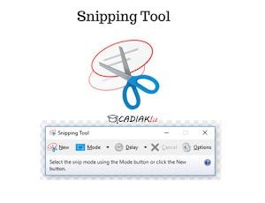 Cara Praktis Screenshot Laptop atau Komputer di Windows 7 UPDATE 2020