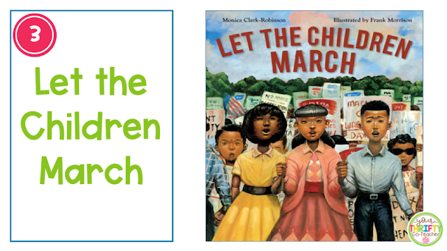 A list of Martin Luther King, Jr books for kids that are perfect read alouds to use with upper elementary students.