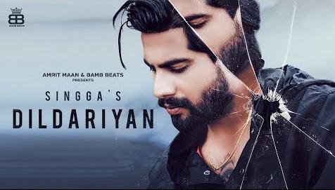 Dildariyan Lyrics-Singga   Singga New Video Song   Gill Saab   Young Army   Latest Punjabi Song Lyrics   New Song 2020