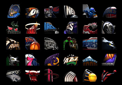 NBA 2K13 ESPN 3D Logos For Select A Team Screen Mod