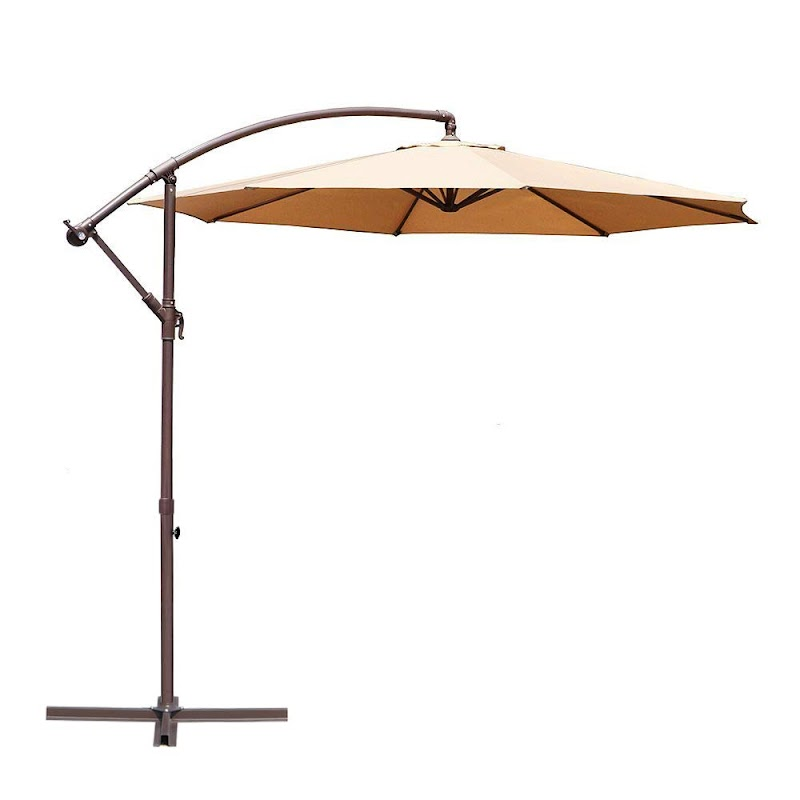 AMAZON - 40% Off 10-ft Offset Hanging Patio Umbrella