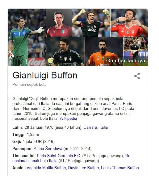 17 Fakta Menarik Gianluigi Buffon Salah Satu Kiper Terbaik Yang Pernah Ada