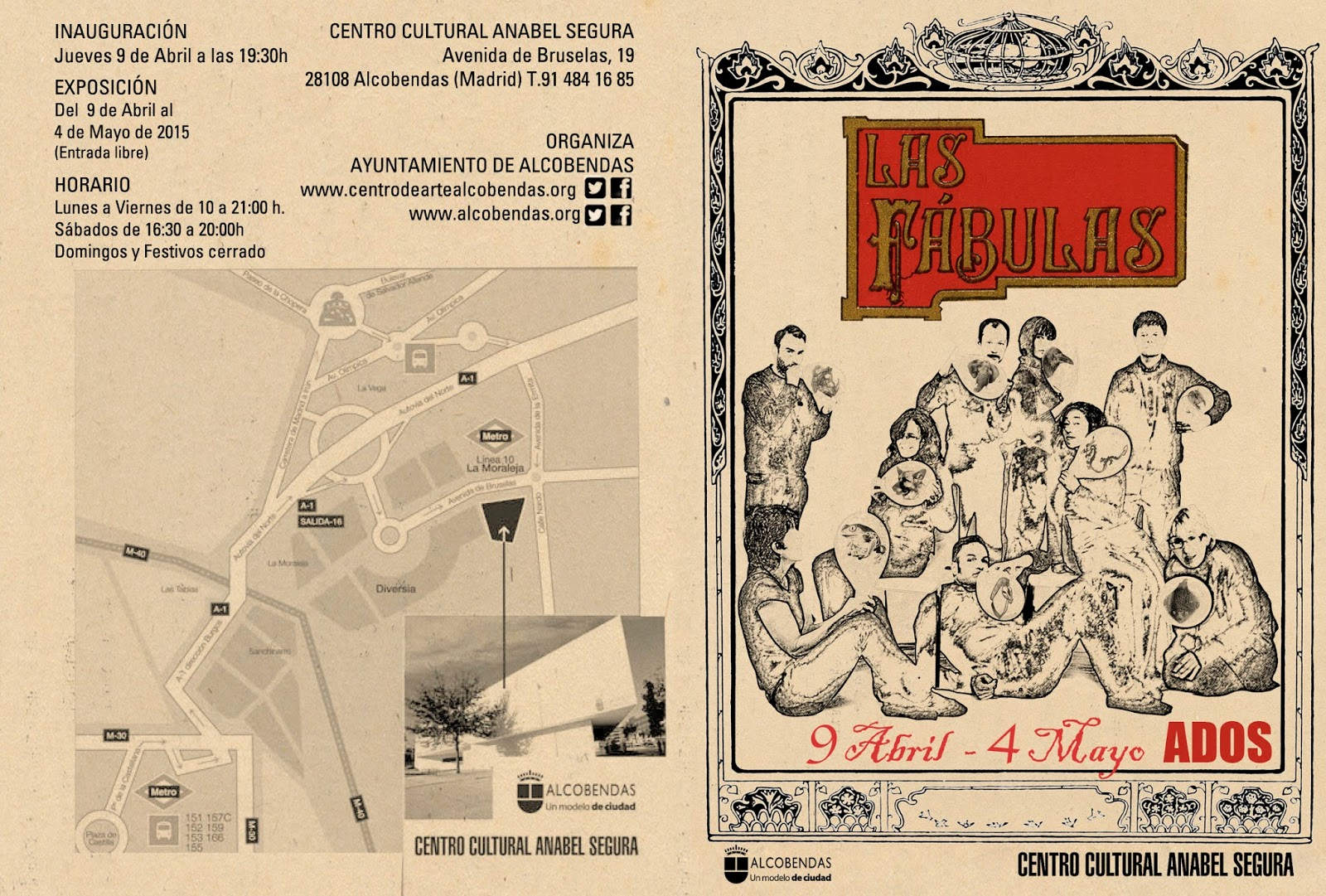 diptico Las Fabulas - ados