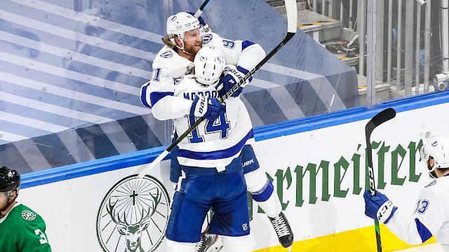 NHL Stanley Cup Finals 2020: Game 3 - Victoria fácil de los Lightning que se ponen 2-1