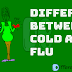 Difference Between Cold and Flu(Cold vs Flu) Comparing Cold and Flu