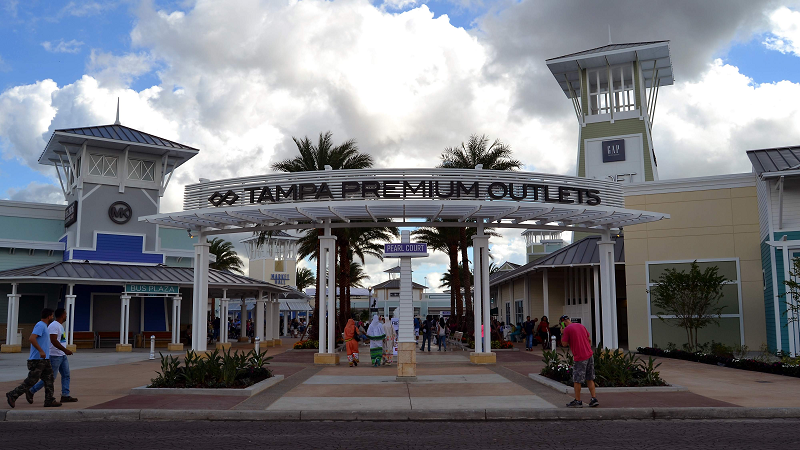 Tampa Premium Outlets is conveniently located off Interstate 75 and State Road 56 on Grand Cypress Drive. Anchored by Saks Fifth Avenue OFF 5TH, guests will enjoy over shops including, Calvin Klein, Coach, J. Crew, Michael Kors, Polo Ralph Lauren, and Tommy Hilfiger.