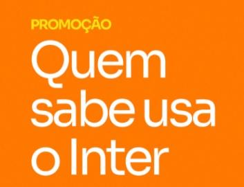 Cadastrar Promoção Quem Sabe Usa Inter Cartão Mastercard 2020 - Sorteio 10 Mil Reais