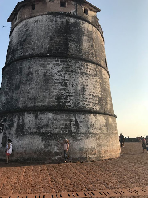 Aguada Fort in Goa
