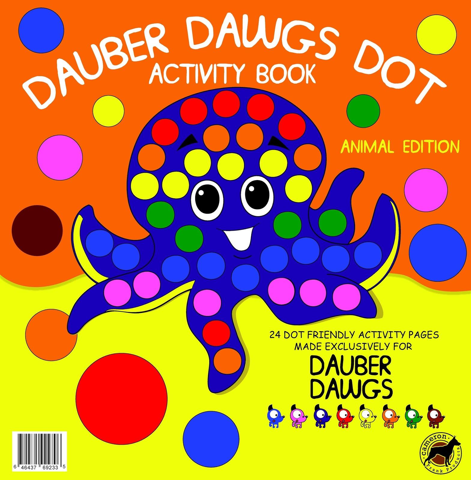 Marksvilleandme Dauber Dawgs Dot Activity Book