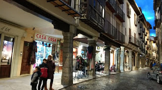 Morella, calle Blasco de Alagón.