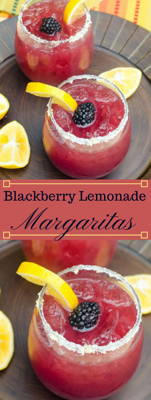 BLACKBERRY LEMONADE MARGARITAS #margaritas #drink  #lemonade #sangria #easy