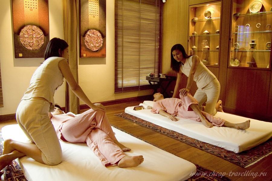 Массаж в салоне Таиланда