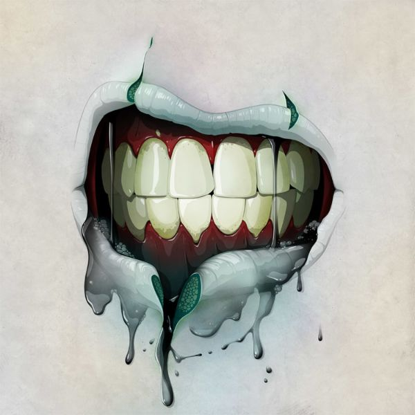 Nice Illustrations by Jason Levesque - Mouth