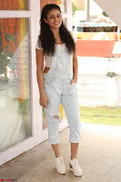 Mishti Chakraborty in lovely Jumpsuit and crop top at Wings Movie Makers Production No 1 movie launch ~  Exclusive 11.JPG