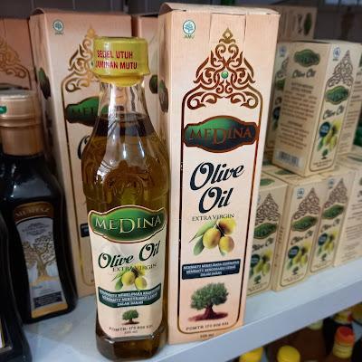 Minyak Zaitun Medina Olive Oil 325ML