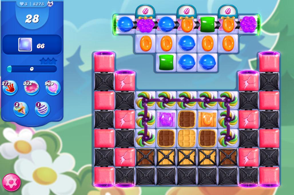 Candy Crush Saga level 8275