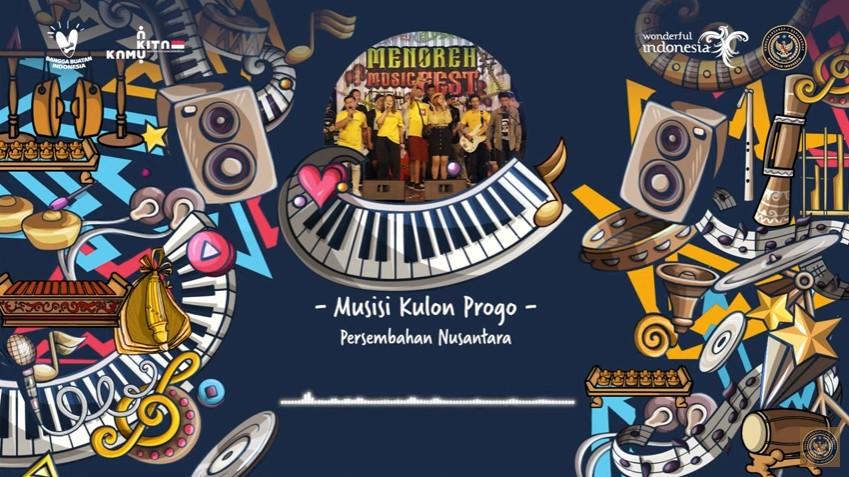 """Musisi Kulon Progo Masuk 15 Besar Lomba """"Cipta Lagu Nusantara"""" Kemenparekraf RI"""