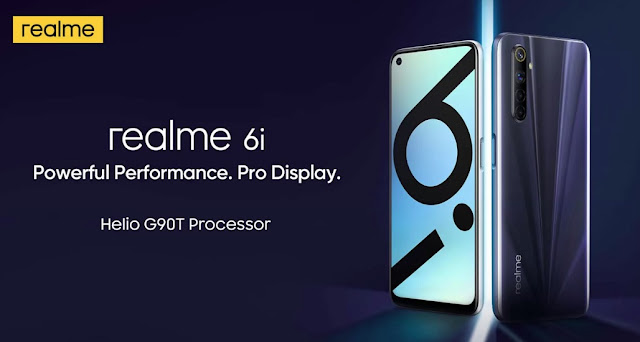 Realme 6i Launched With 6.5inch FullHD+ 90Hz Display, 6GB RAM, 4300mAh Battery & More