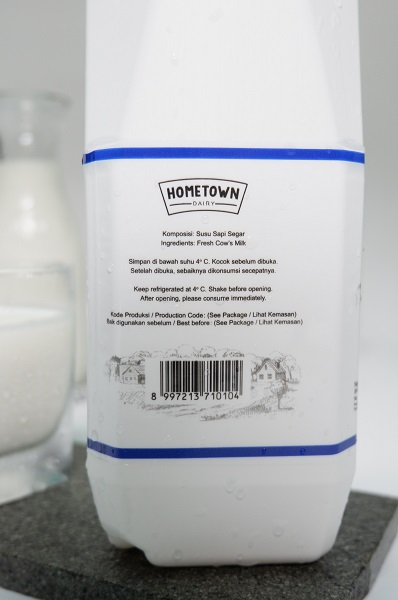 Hometown Dairy fresh milk