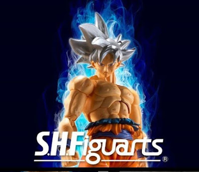 S.H.Figuarts Ultra Instinct Son Goku (Migatte no Gokui) de Dragon Ball Super