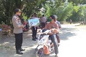 Personil Polsek Malua, Polres Enrekang Kembali Lakukan Operasi Yustisi