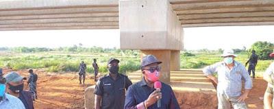 Anambra State Governor Obiano Builds New Bridge