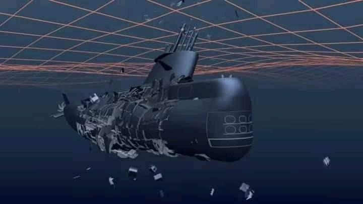 Ini Yang Akan Terjadi Pada Kapal Selam Saat Tenggelam, Hancur Seperti Telur Pecah