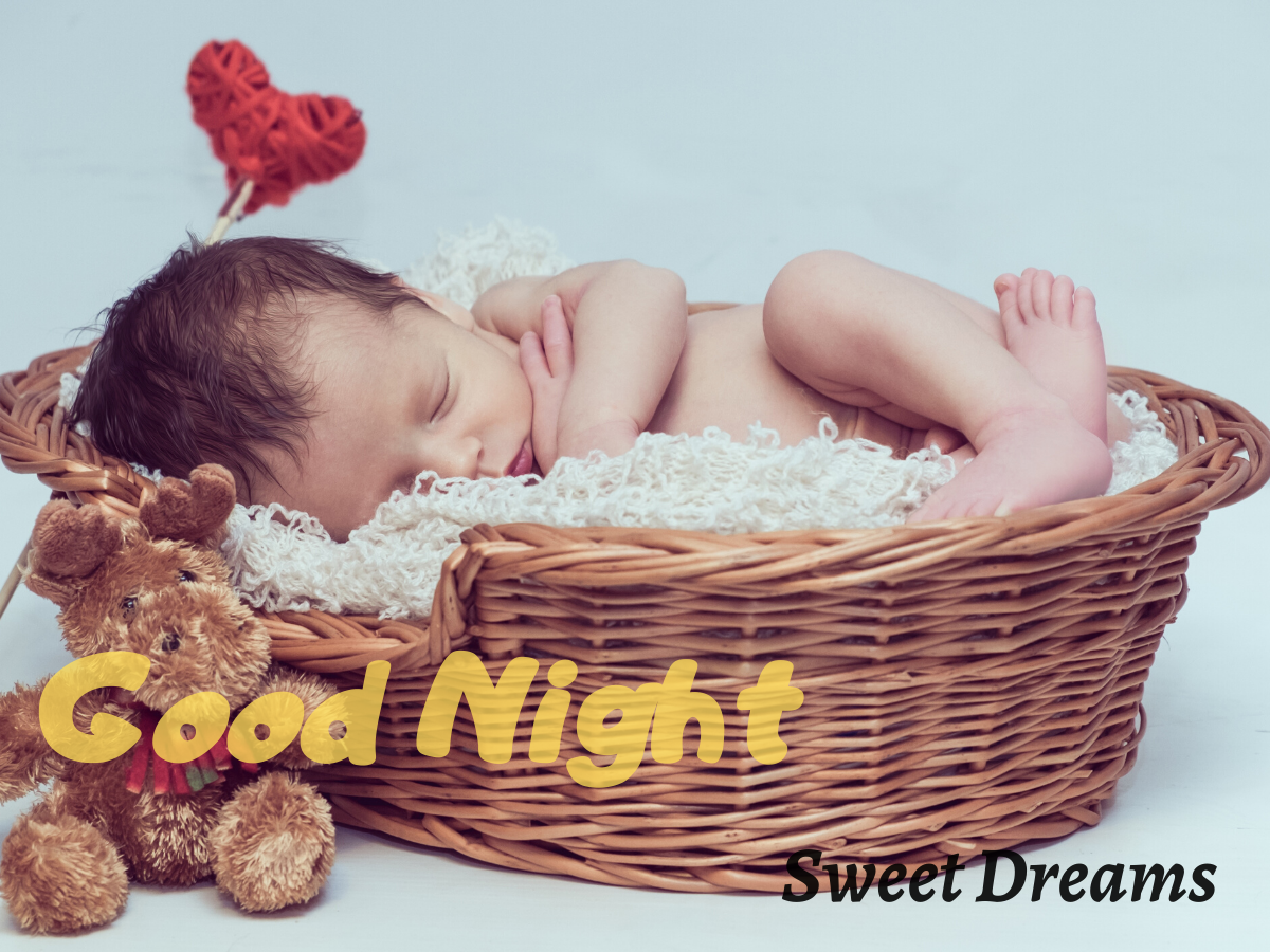 Cute Babyes Good Night Images