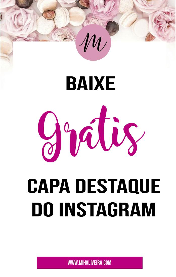 Baixar grátis capa destaque instagram