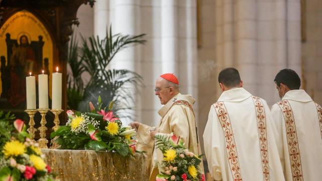 Un juez abre diligencias por la interrupción de una misa del Domingo de Resurrección en Madrid