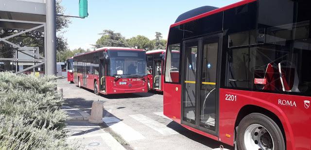 Giovedì 1 agosto - presentazione dei nuovi bus