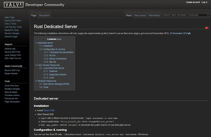How to create your own private Rust server? Step by Step